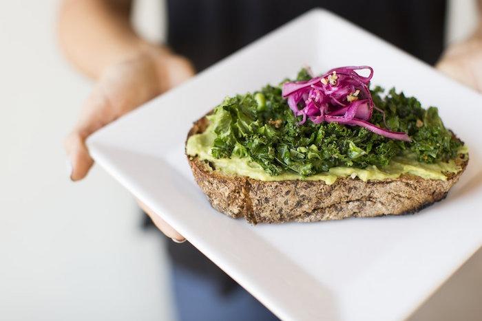 Kale Avocado Toast