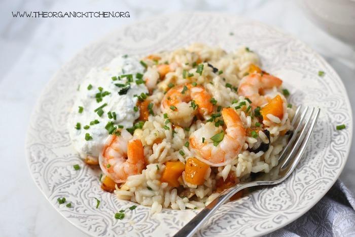 Lemon Risotto: Chicken~Shrimp~Vegetarian