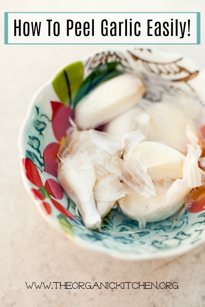 How to Peel Garlic Easily!