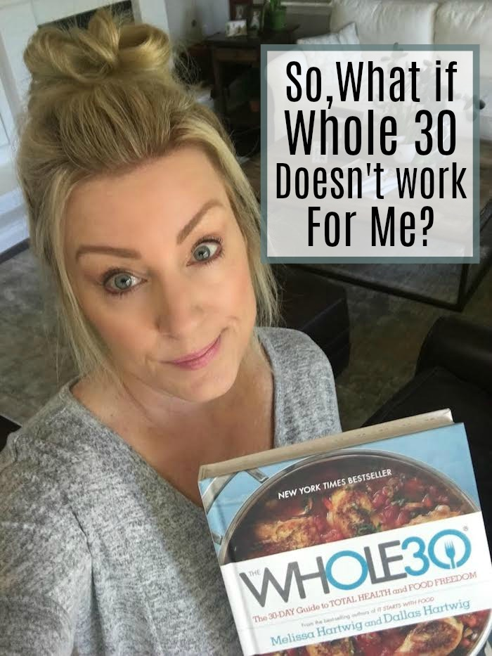 I LOVE the Whole 30 program, but what if the Whole 30 doesn't work for you or you don't want to have to do an elimination diet to figure out your health issues? Check out these tips on what to do if Whole 30 didn't work for you.