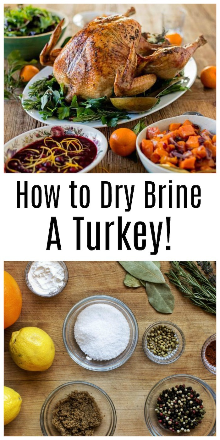 How to Dry Brine and Cook an Herbed Butter Turkey!