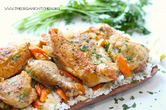 Cinnamon Chicken and Rice~Gluten and Dairy Free!