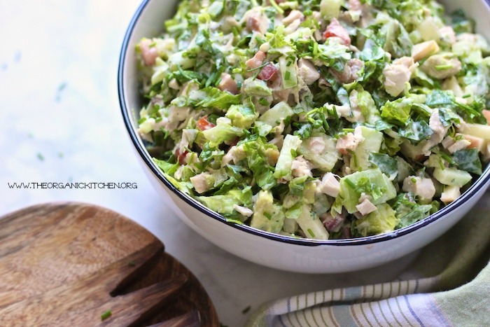 hopped Chicken Salad with Ranch ~ Whole 30/Paleo