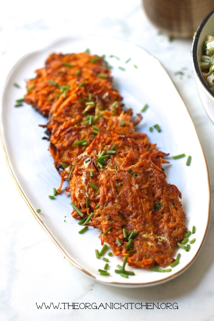 Easy Sweet Potato Fritters-Paleo/Whole 30