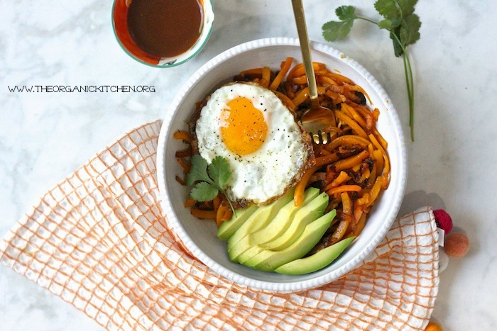 Whole 30 Butternut Squash and Eggs