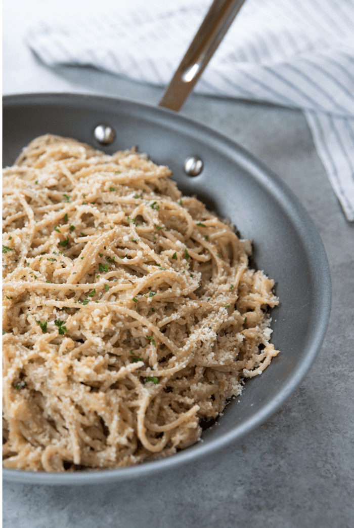 Pasta with Creamy Broccoli and Peas~ Gluten Free