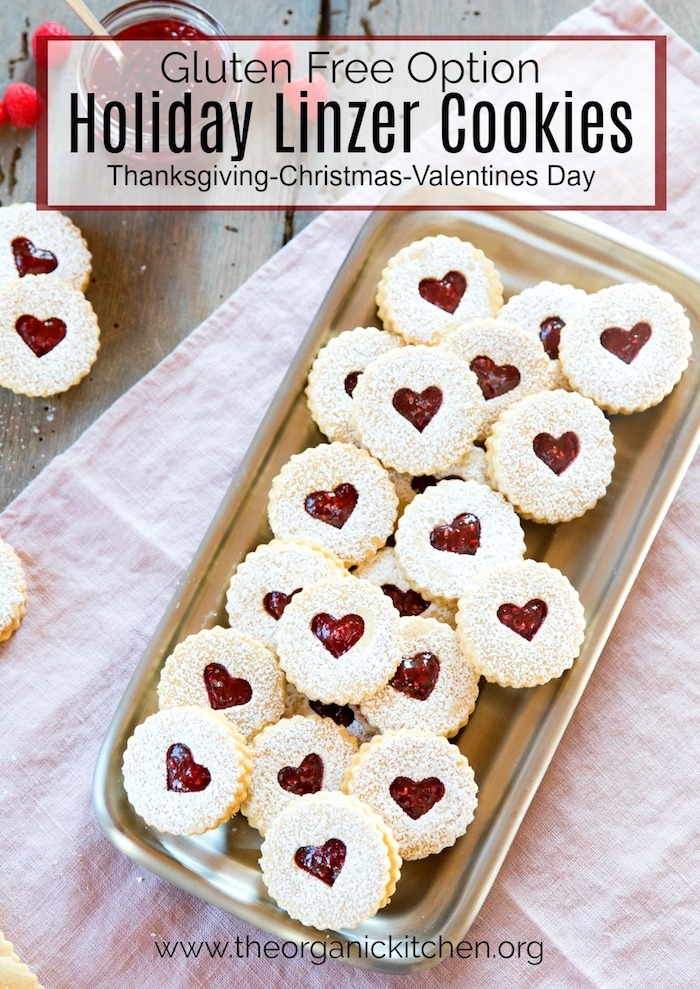Holiday Linzer Cookies #christmascookies #valentinesdaycookies #linzercookies #holidaycookies #glutenfree