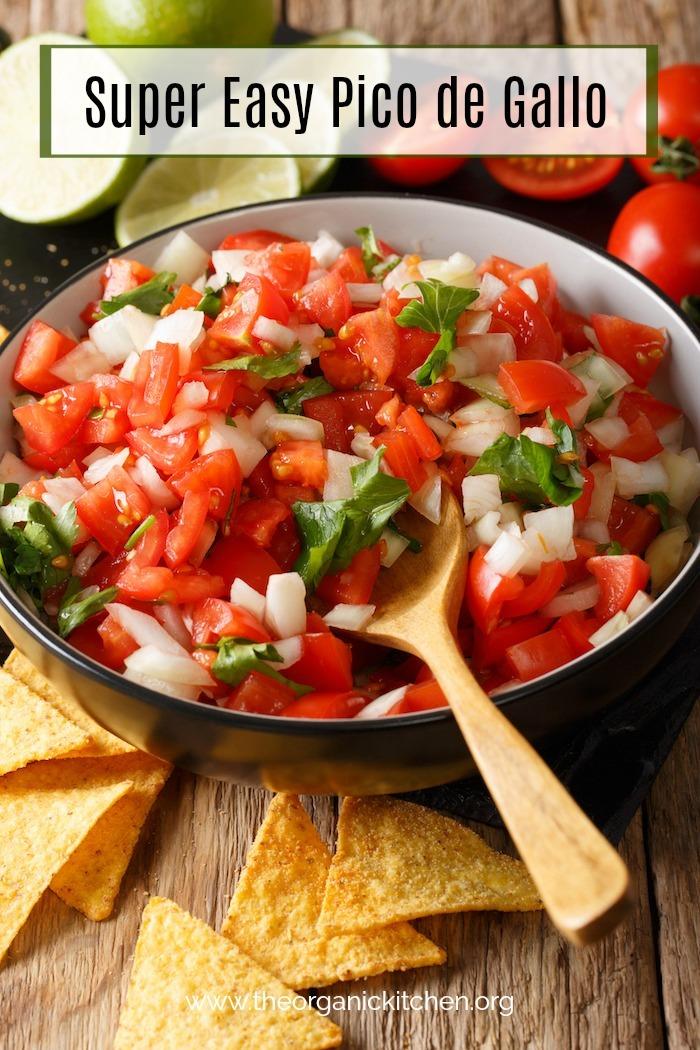Super Easy Pico De Gallo! #salsa #picodegallo #mexicanfood #whole30 #paleo