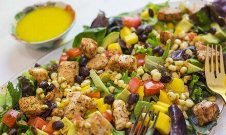 Southwest Chicken Salad with Mango Vinaigrette!