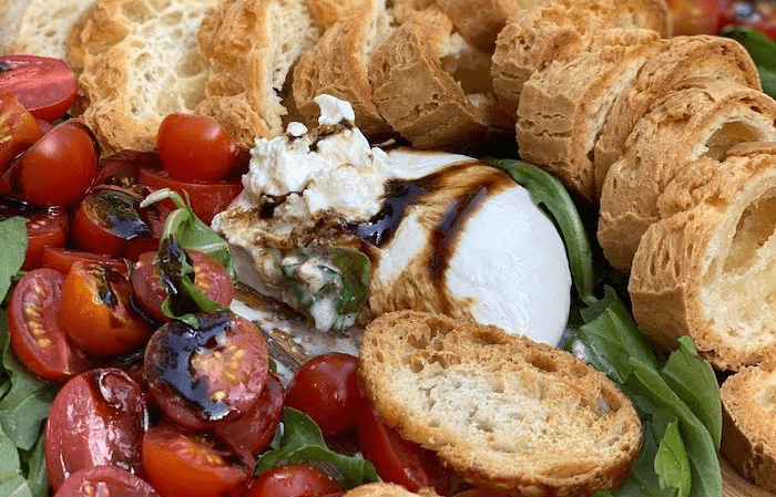 Deconstructed Caprese Salad Party Platter