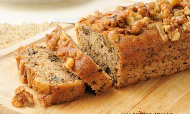 Banana Nut Bread or Muffins (gluten free option)